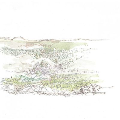 Tankwa Landscape II, Annie le Roux